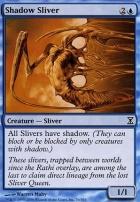 Time Spiral Foil: Shadow Sliver