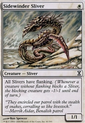 Time Spiral Foil: Sidewinder Sliver