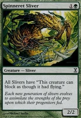 Time Spiral: Spinneret Sliver