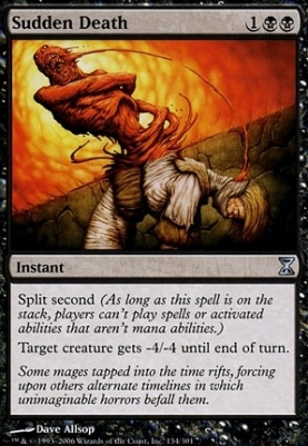 Time Spiral Foil: Sudden Death