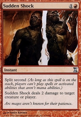 Time Spiral Foil: Sudden Shock