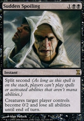 Time Spiral Foil: Sudden Spoiling