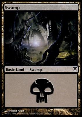 Time Spiral: Swamp (290 A)