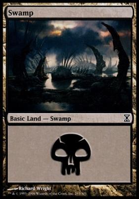 Time Spiral: Swamp (293 D)