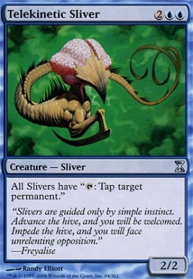 Time Spiral: Telekinetic Sliver