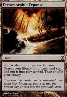 Time Spiral: Terramorphic Expanse