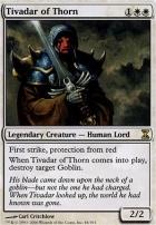 Time Spiral Foil: Tivadar of Thorn
