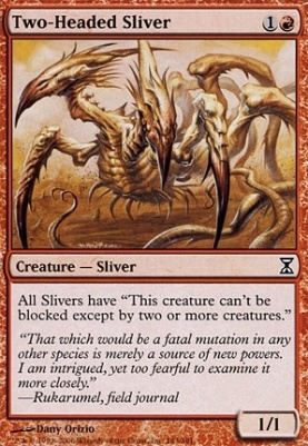 Time Spiral: Two-Headed Sliver