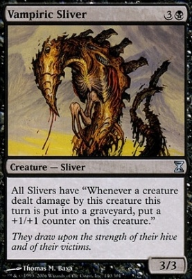 Time Spiral: Vampiric Sliver