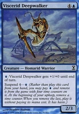 Time Spiral Foil: Viscerid Deepwalker