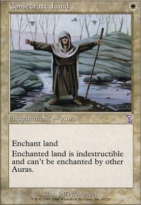 Timeshifted Foil: Consecrate Land