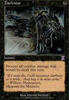 Timeshifted Foil: Darkness