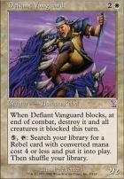 Timeshifted Foil: Defiant Vanguard