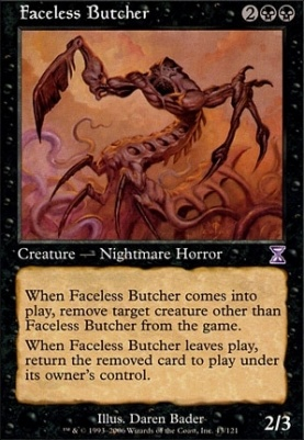 Timeshifted: Faceless Butcher