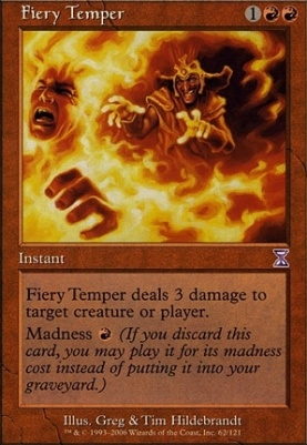 Timeshifted Foil: Fiery Temper