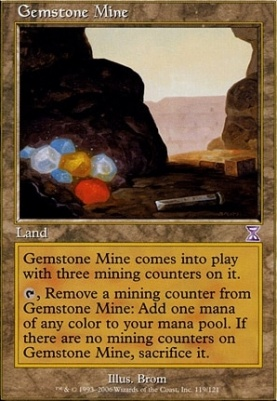 Timeshifted Foil: Gemstone Mine