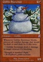 Timeshifted: Goblin Snowman