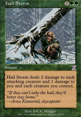 Timeshifted Foil: Hail Storm