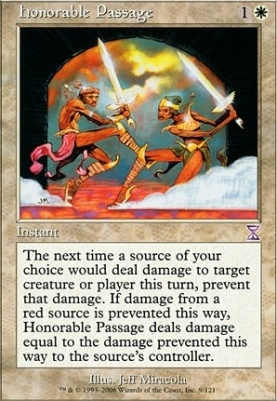 Timeshifted Foil: Honorable Passage