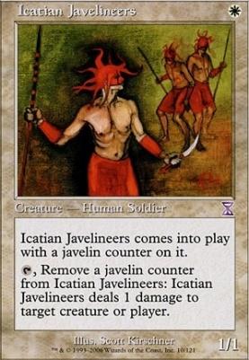 Timeshifted: Icatian Javelineers
