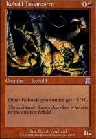 Timeshifted Foil: Kobold Taskmaster