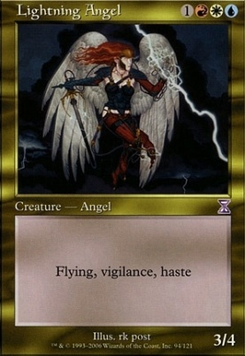 Timeshifted: Lightning Angel