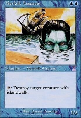 Timeshifted Foil: Merfolk Assassin