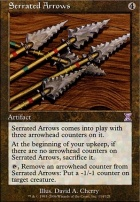 Timeshifted: Serrated Arrows