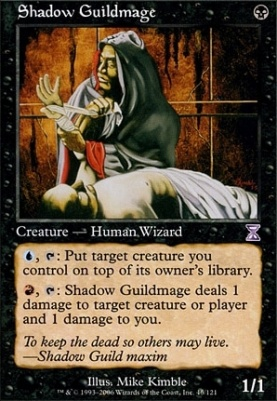 Timeshifted Foil: Shadow Guildmage