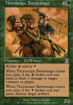 Timeshifted: Thornscape Battlemage