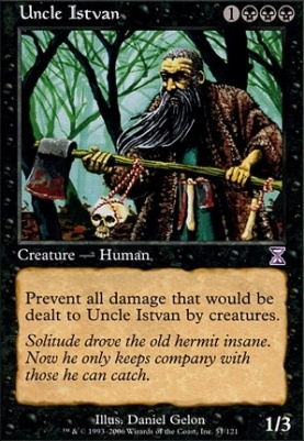 Timeshifted Foil: Uncle Istvan