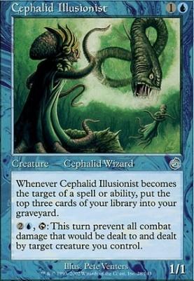 Torment Foil: Cephalid Illusionist