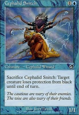 Torment Foil: Cephalid Snitch