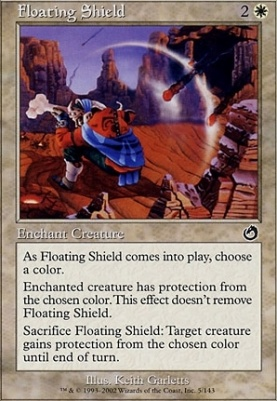 Torment Foil: Floating Shield
