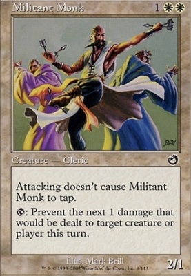 Torment Foil: Militant Monk