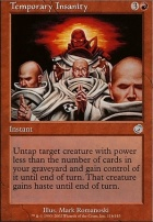 Torment Foil: Temporary Insanity