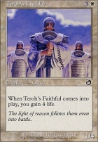 Torment Foil: Teroh's Faithful