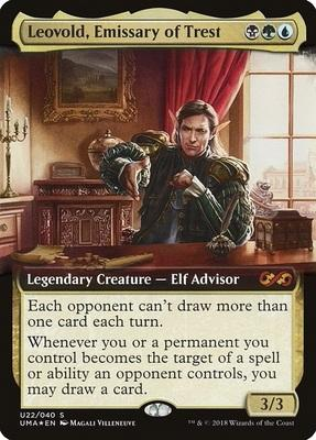 Ultimate Box Topper: Leovold, Emissary of Trest