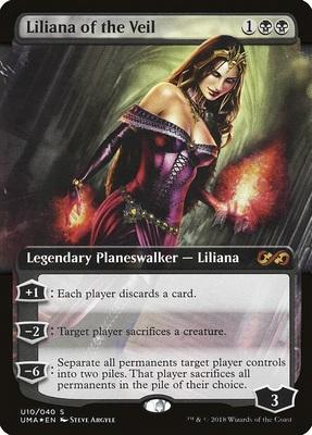 Ultimate Box Topper: Liliana of the Veil