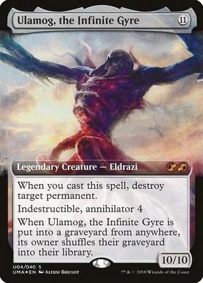 Ultimate Box Topper: Ulamog, the Infinite Gyre