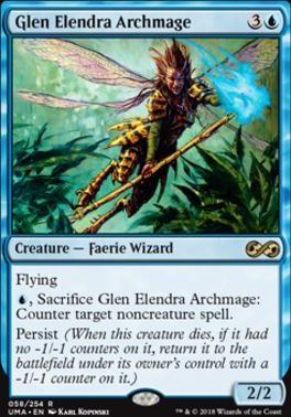 Ultimate Masters Foil: Glen Elendra Archmage