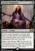 Ultimate Masters Foil: Goryo's Vengeance