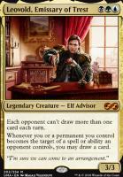 Ultimate Masters Foil: Leovold, Emissary of Trest