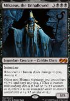 Ultimate Masters Foil: Mikaeus, the Unhallowed
