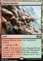 Ultimate Masters Foil: Raging Ravine