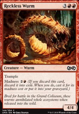 Ultimate Masters: Reckless Wurm