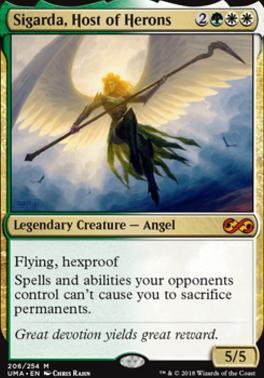 Ultimate Masters Foil: Sigarda, Host of Herons
