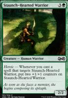 Ultimate Masters Foil: Staunch-Hearted Warrior