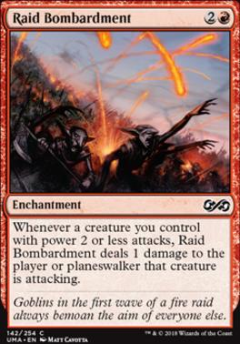 Ultimate Masters Foil: Raid Bombardment