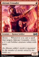 Ultimate Masters Foil: Akroan Crusader